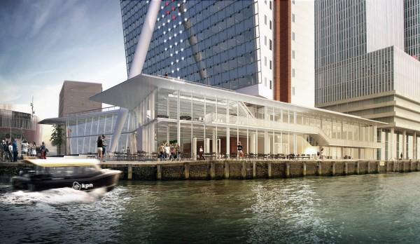 Rotterdam Uitbreiding KPN Toren door V8 Architects