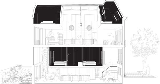 Shift matryoshka house 15 section longitudinal 560x294