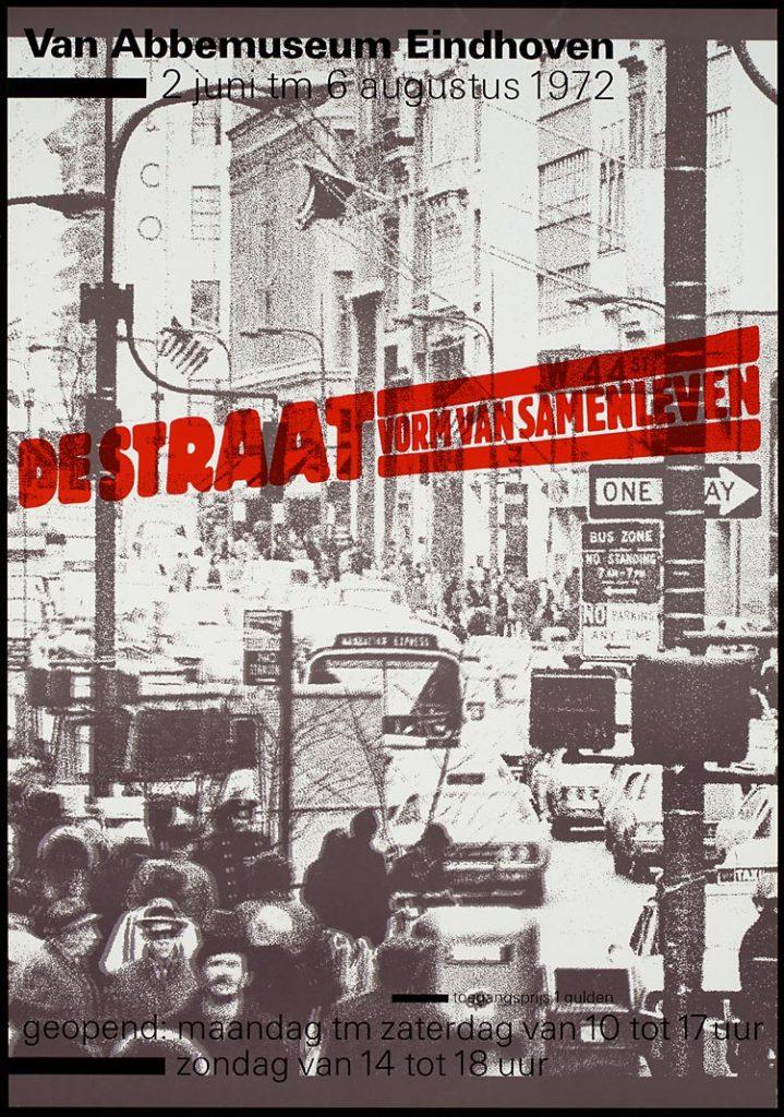 Affiche De straat (afbeelding: van Abbemuseum Eindhoven)