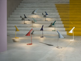 New colors for the iconic AJ lamp by Louis Poulsen