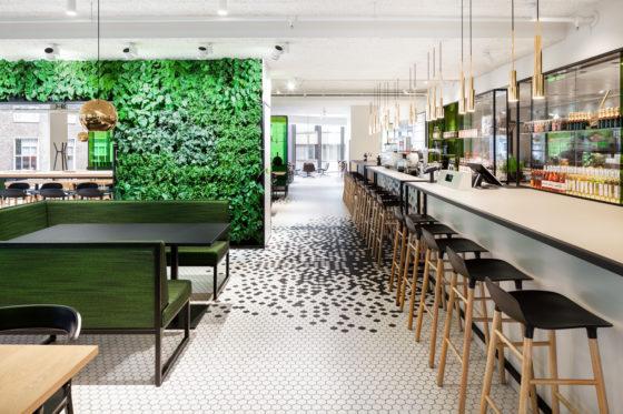 The kitchen bijenkorf utrecht i29 interior architects de architect - Keuken open concept ...