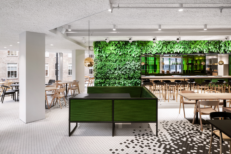 I interior architects designs room on the roof at de bijenkorf