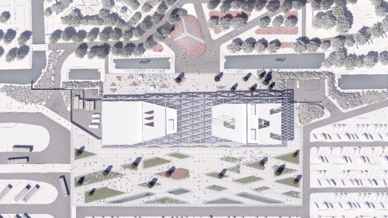 Keukenhof situation by mecanoo architecten 560x315