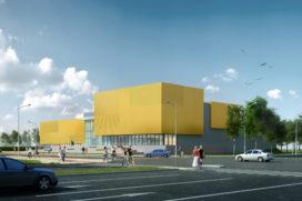 LIAG ontwerpt sportaccommodatie Talent Centraal Nijmegen