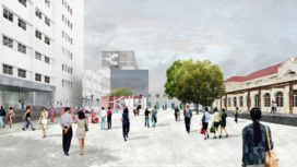 OMA presenteert plannen transformatie Columbia Circle-gebied Shanghai