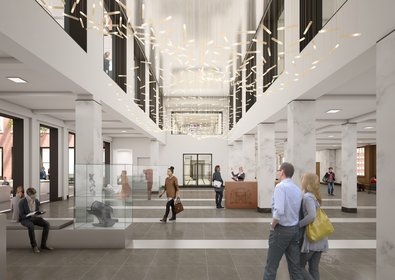 Plannen nieuw Stadhuis Leiden