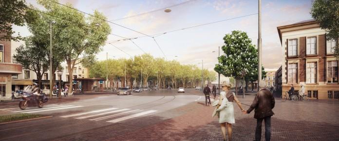 Impressie Toernooiveld Den Haag. Impressie: Ontwikkelaar Sens real estate