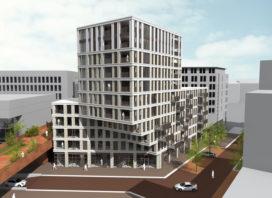 Paleiskwartier Den Bosch krijgt gedraaide toren