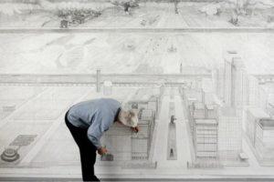 Blog – Robbie Cornelissen tekent ruimtelijk op grootformaat