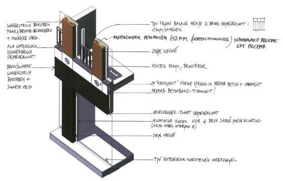 Attika emoticon facade design drawing 1 560x358