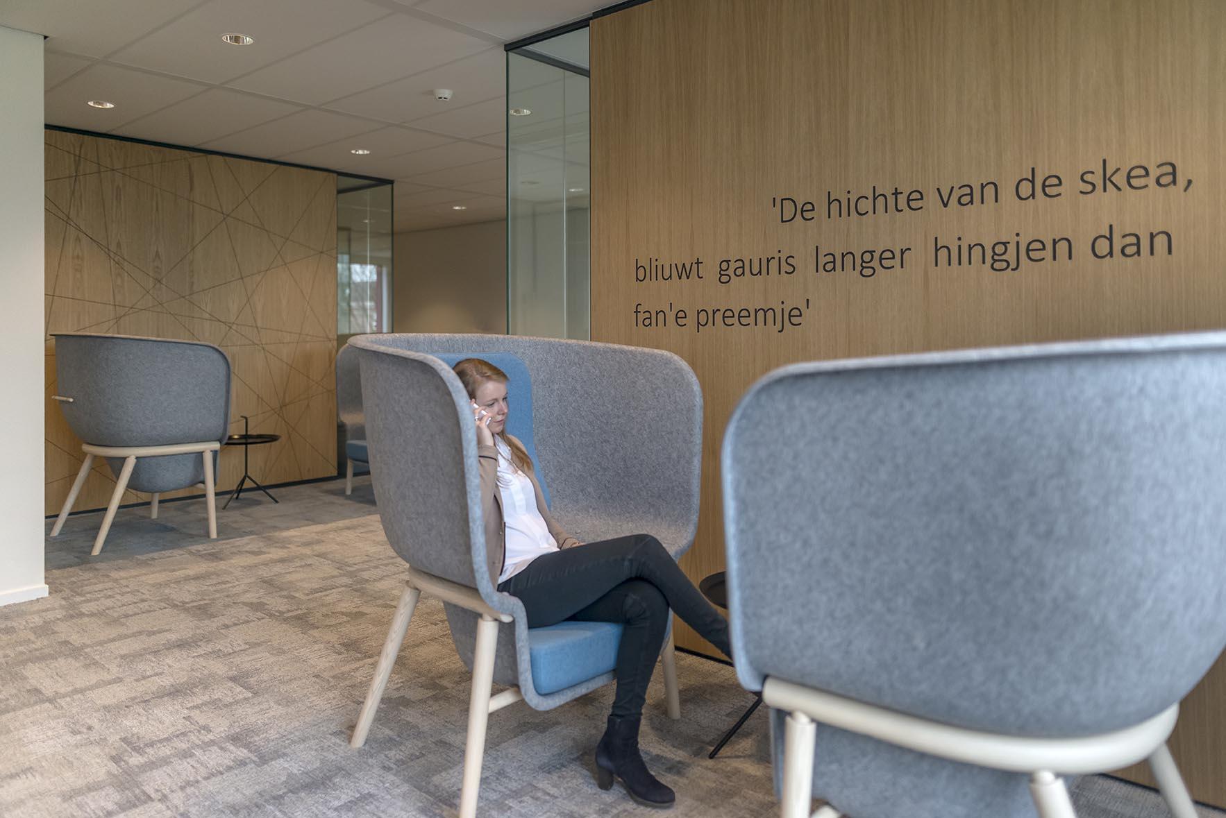 Interieur kantoor aegon leeuwarden oth de architect for Jan de jong interieur leeuwarden