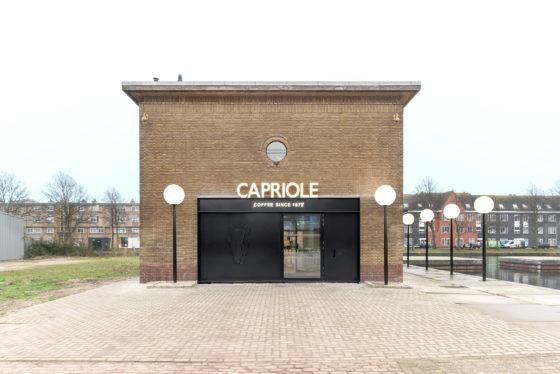 Arc17 capriole caf bureau fraai de architect for Hartman interieur rotterdam