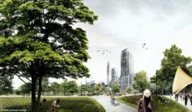 Planpresentatie 'De Groene Entree voor een stad met allure' te Den Haag