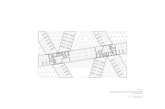 Oficinas consejerias jjaa sevilla dise%c3%b1o plano cruz y ortiz arquitectos cyo 11 planta mixta 1300x864 560x372