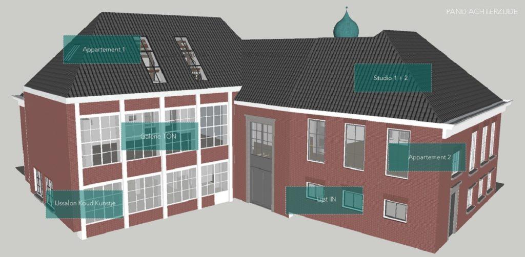 Stadhuis Rucphen krijgt nieuwe bestemming
