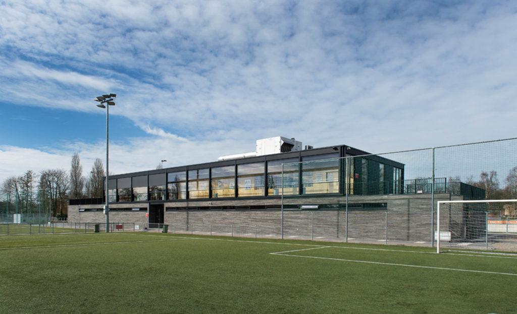 MBI Zeeburgia clubgebouw
