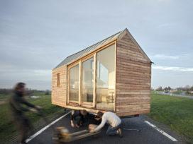 Tiny House Village in Proeftuin Erasmusveld Den Haag
