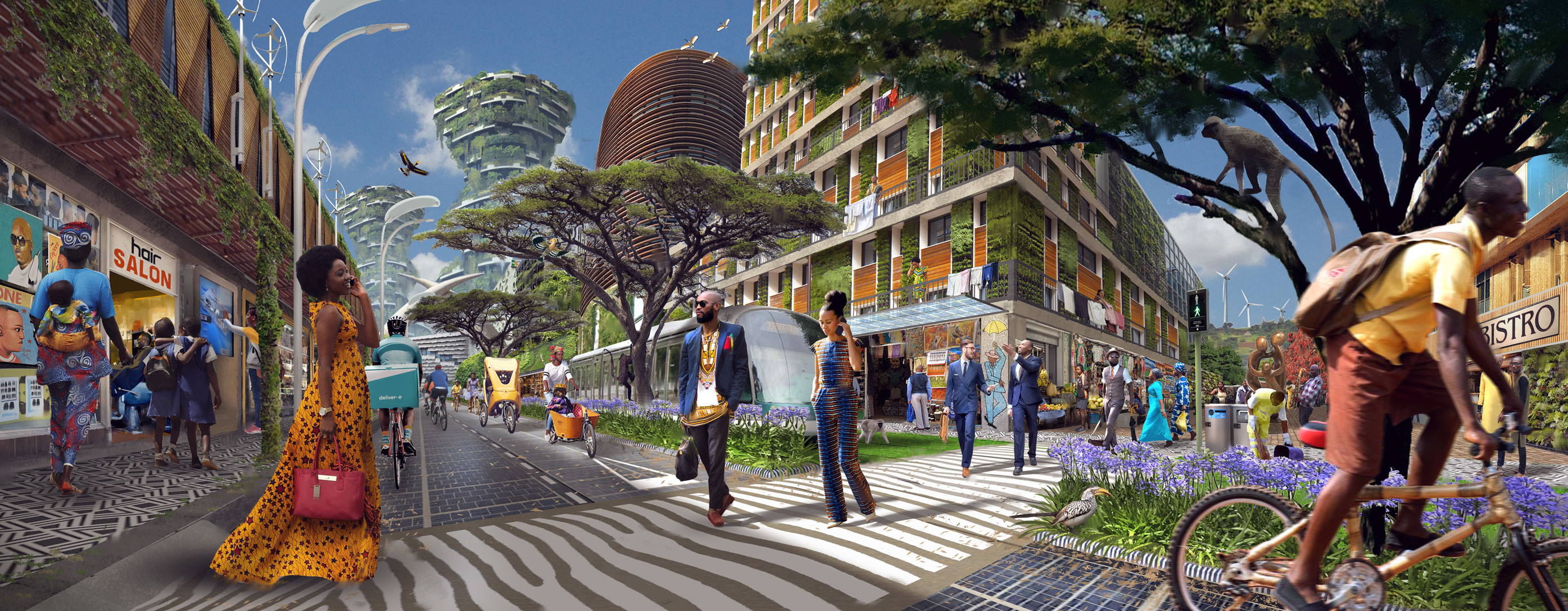 Afrikaanse alternatieven Post-Fossil City Contest