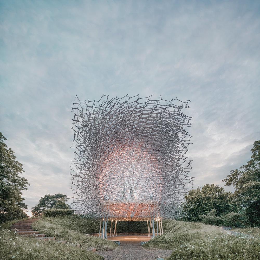 Jeroen Apers Paviljoen Kew Londen