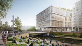 Nieuw ontwerp Google-hoofdkantoor Londen