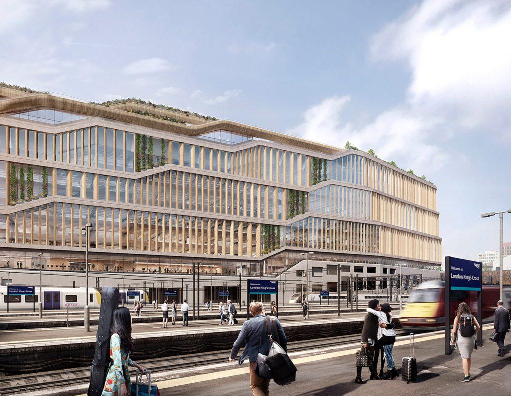 BIG en Heatherwick ontwerpen nw hoofdkantoor Google Londen