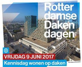 Rotterdamse Dakendagen: bouwen bovenop de bestaande stad