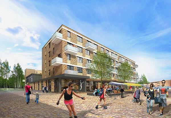 Waal en KOW energieneutraal centrumplan Westwijk Vlaardingen