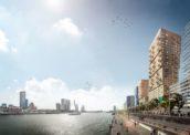 Rotterdam krijgt twee torens aan de Boompjes door Team V