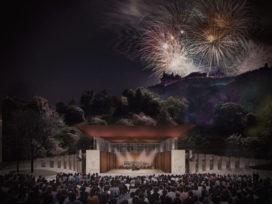 Zeven iconische ontwerpen voor Ross Pavilion Edinburgh