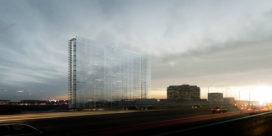 Europees Octrooibureau Rijswijk door Jean Nouvel bereikt hoogste punt