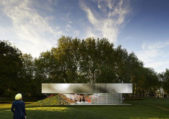 MP Pavilion Australie door OMA