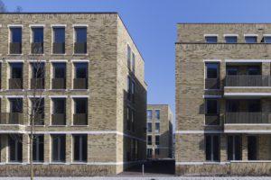 Nieuw urbanisme met baksteen