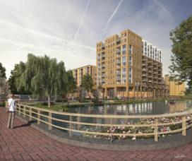 Haarlems parkeerterrein wordt  Floridaplein Schalkstad