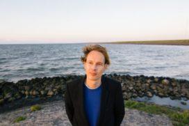 De lichtshow van Daan Roosegaarde op de Afsluitdijk