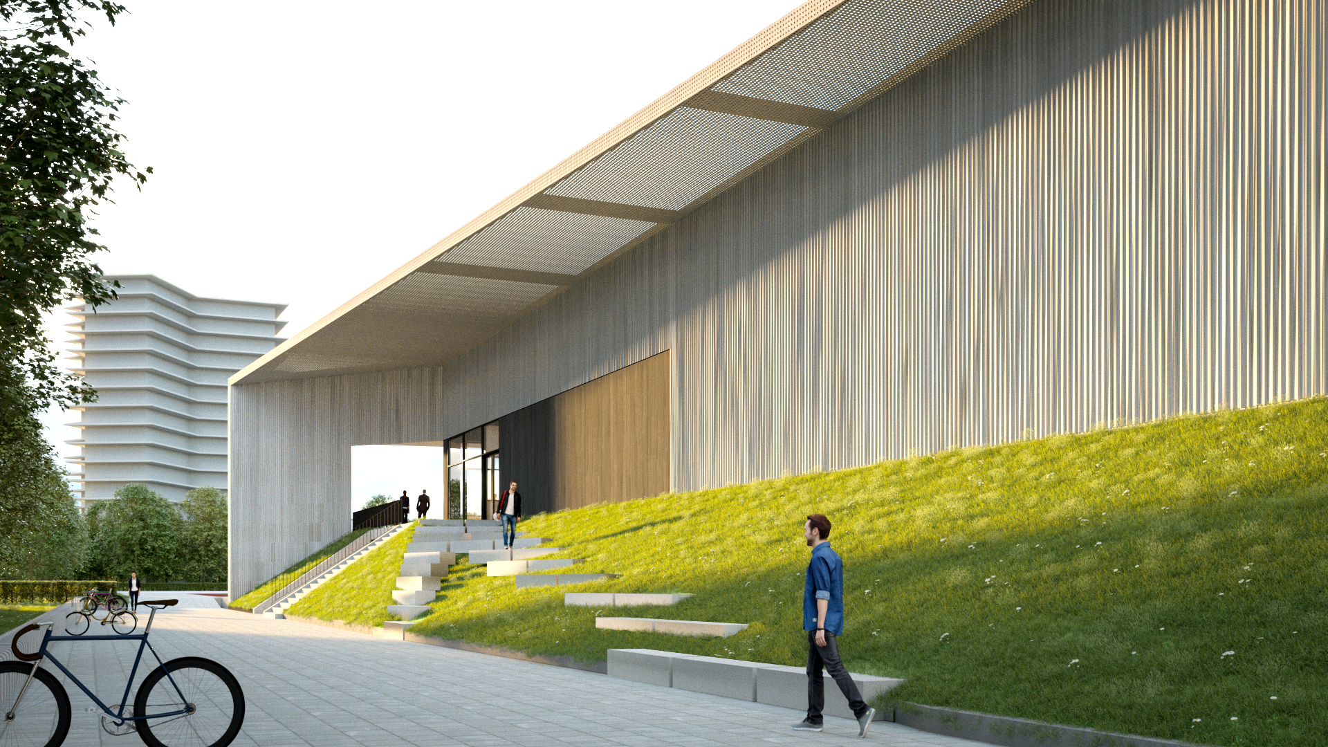 Kv wageningen door lichtstad architecten kv wageningen
