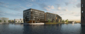 Orange Architects wint tender Kavel 42A IJburg Amsterdam