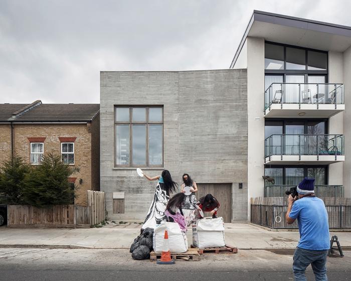 Nominatie RIBA Stirling Prize 17: Photography Studio for Juergen Teller. Fotograaf Johan Dehlin
