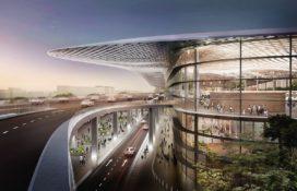 Benthem Crouwel en Powerhouse Company bundelen krachten voor terminal Hangzhou