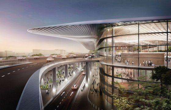 Hangzhou Terminal 4 door Powerhouse en Benthem Crouwel