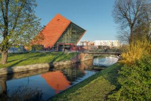 Museum Tweede Wereldoorlog Gdansk, Polen – Studio Architektoniczne Kwadrat