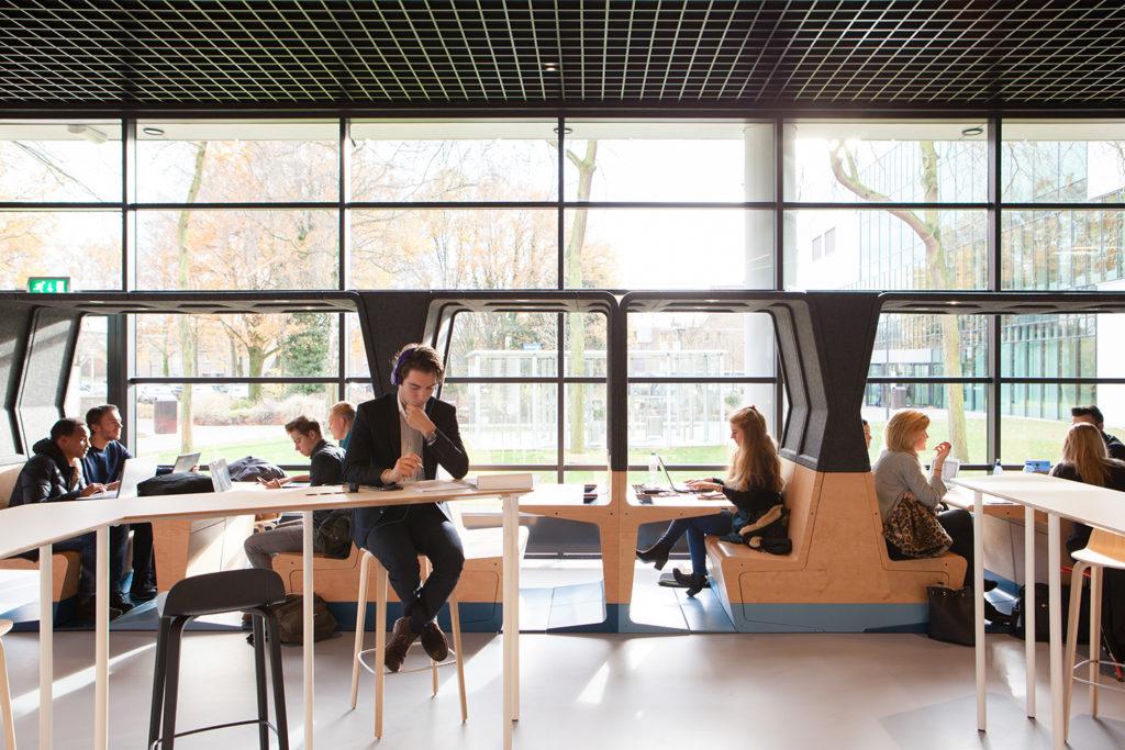 HUBB door Mecanoo. Foto: Mecanoo architecten