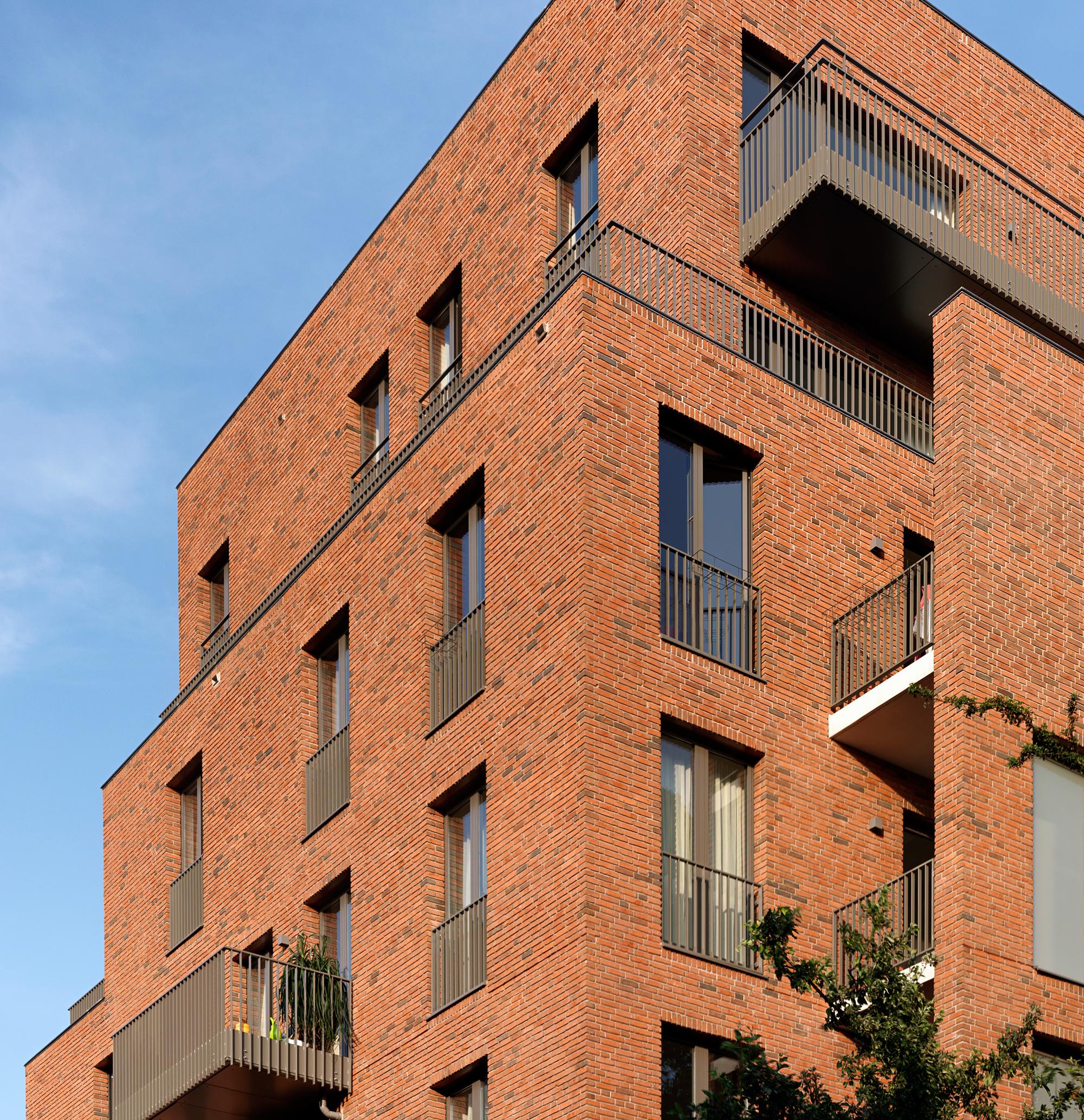 Arc17 architectuur appartementengebouw wibautstraat bedaux de brouwer architecten de architect - Architectuur en constructie ...
