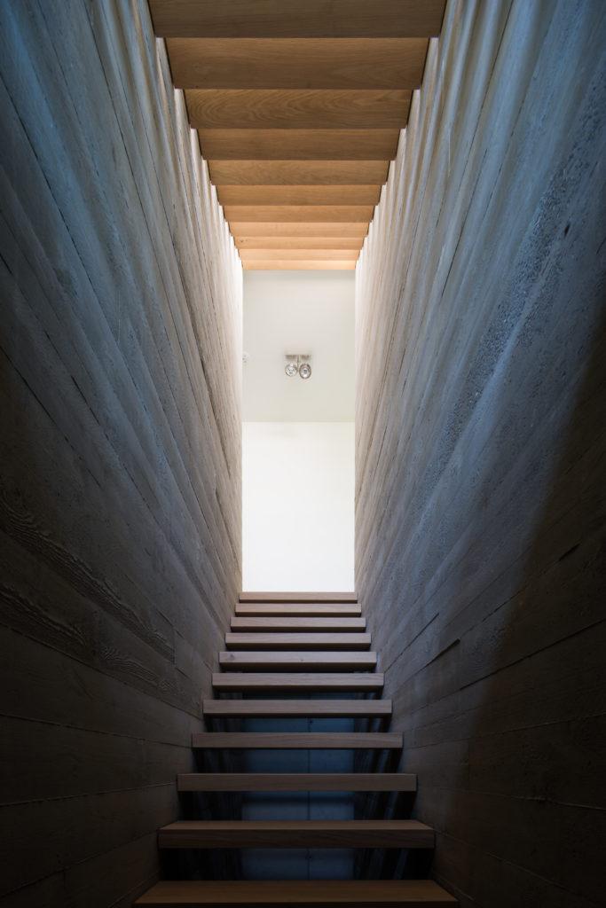 Arc17 architectuur villa h berg klein de architect - Trap binnen villa ...