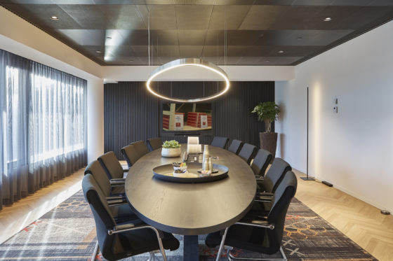 Agio conferentieroom bo2 architectuur enstedenbouw 560x373