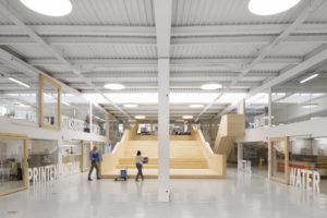 ARC 17 Interieur: MAAKLAB, een open innovatieruimte – dmvA Architecten