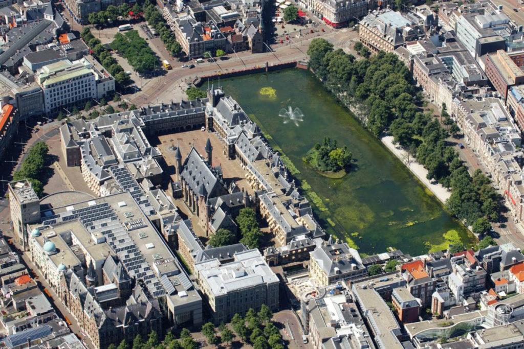 Luchtfoto Binnenhof