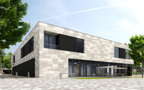 Conix rdbm architects   gemeenschapscentrum schilde 01 560x350