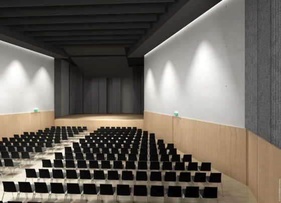 Conix rdbm architects   gemeenschapscentrum schilde 07 560x405