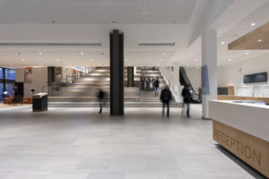 ARC17 Interieur: Campus Den Haag Universiteit Leiden – Studio Leon Thier
