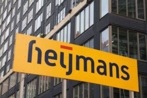 Bouwbedrijf Heijmans uit de rode cijfers